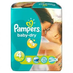 pampers baby dry taille 4 pas cher