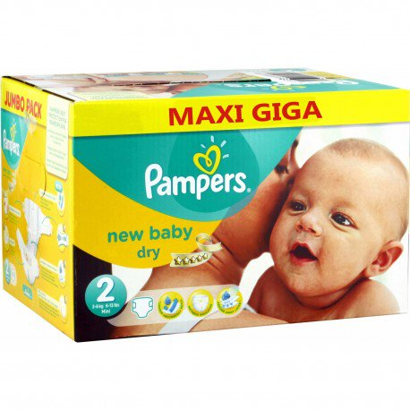 pampers prix