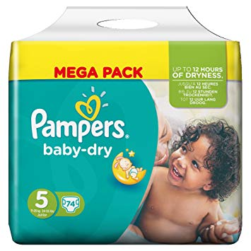 pampers taille 5