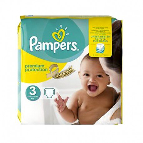 pampers taille