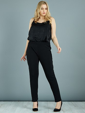 pantalon grande taille femme