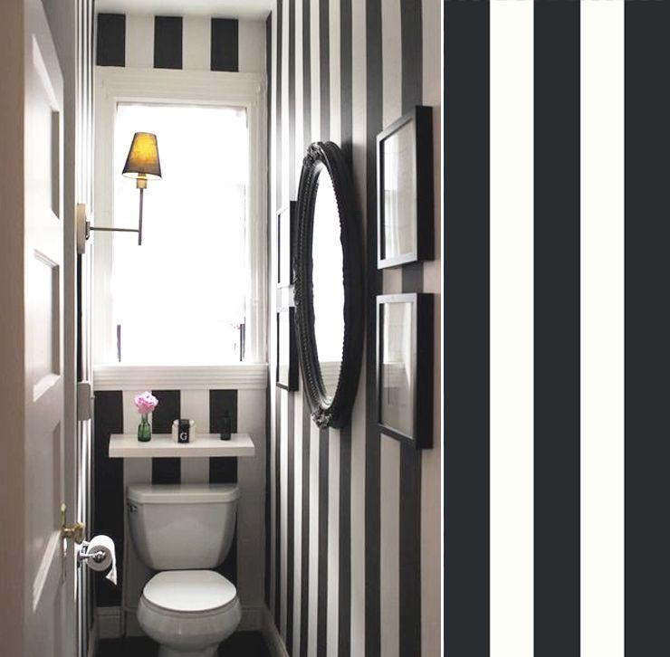 papier toilette noir et blanc