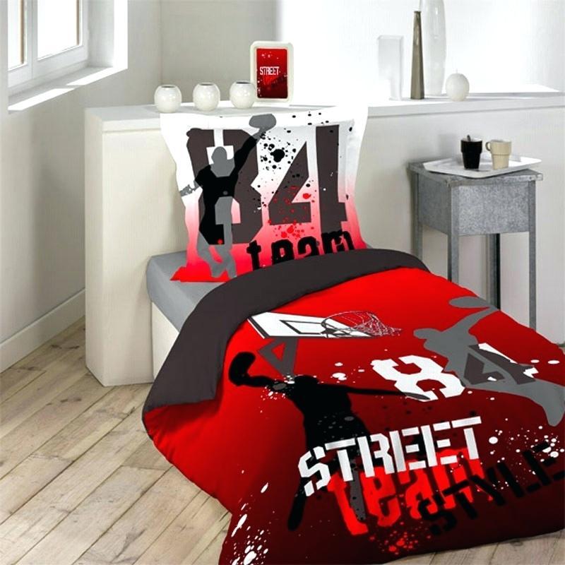 parure de lit basketball