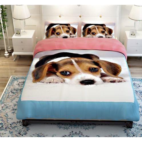 parure de lit chien 2 personnes