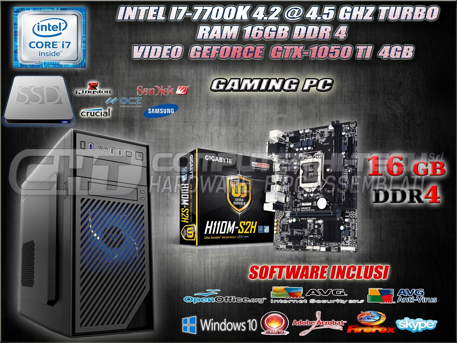 pc gamer i7 ssd