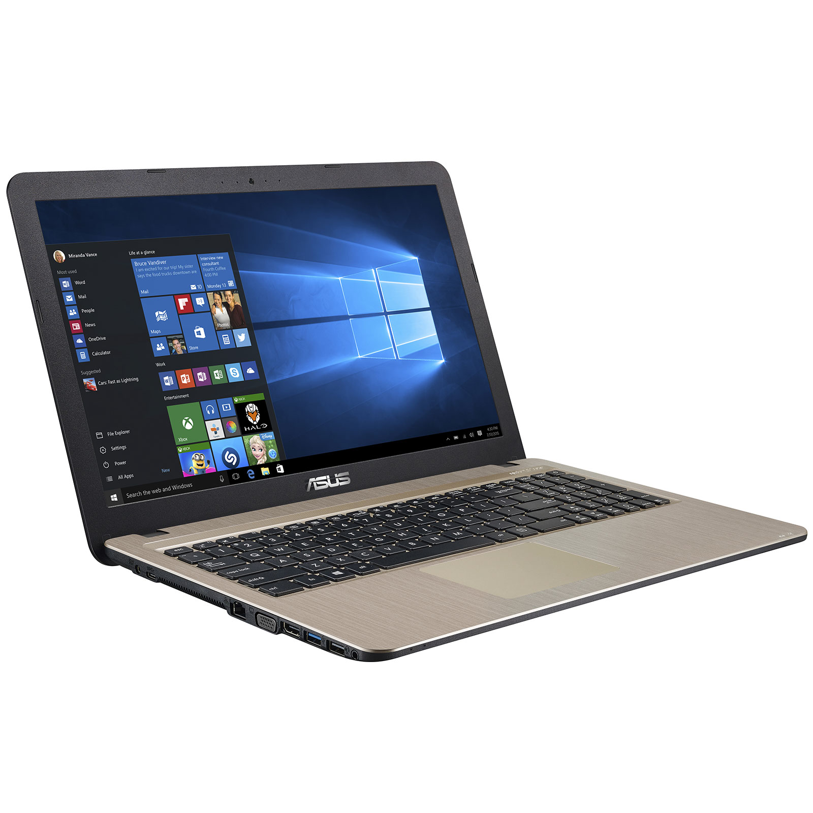 pc portable asus intel core i3