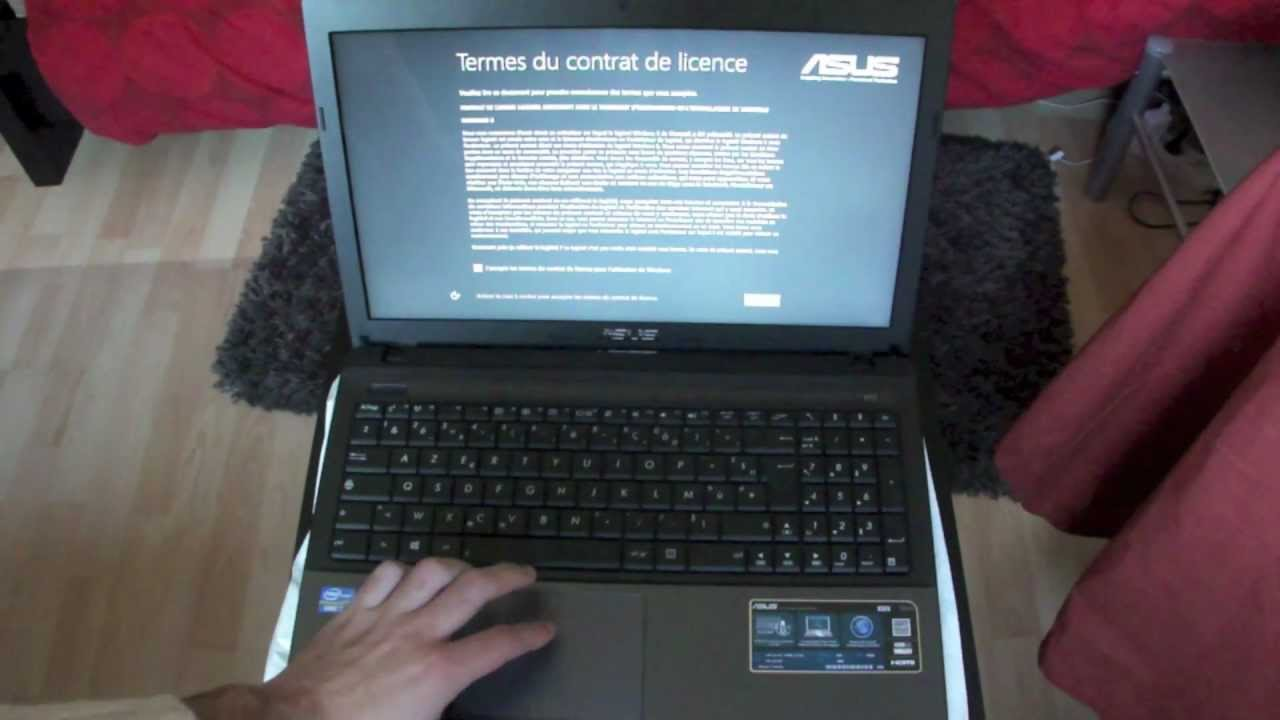 pc portable asus ne charge plus