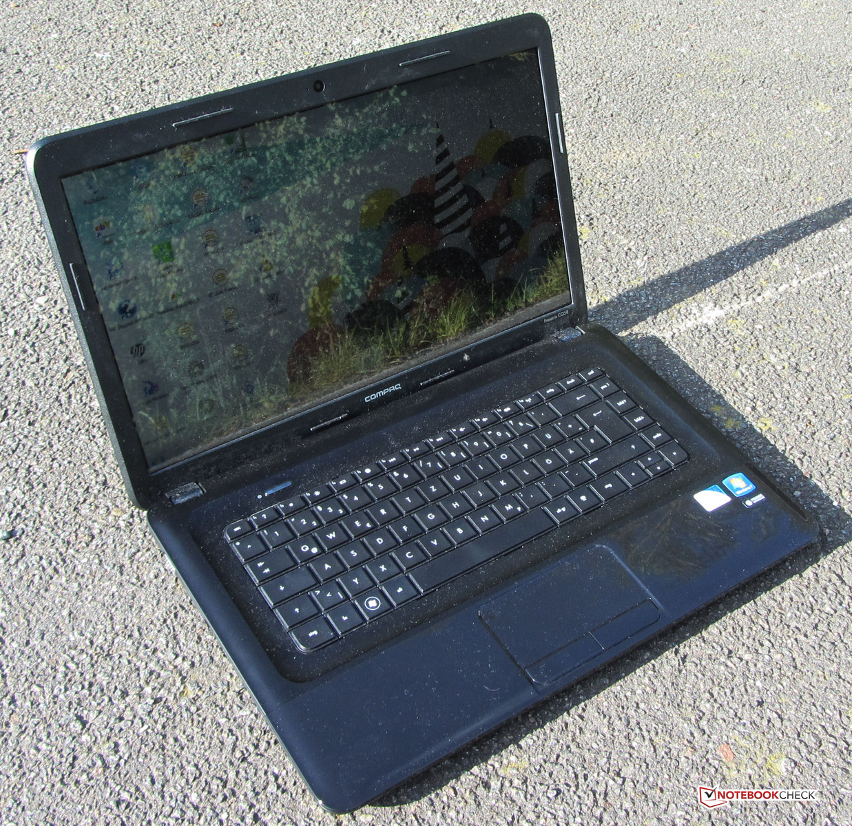 pc portable compaq cq58