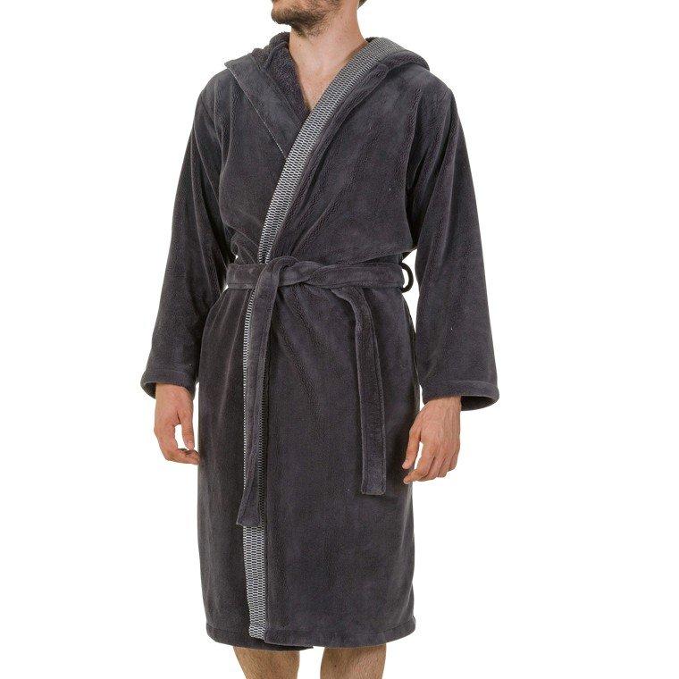 peignoir de bain homme avec capuche