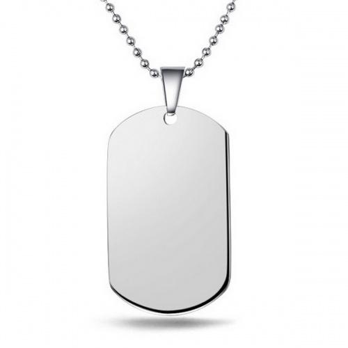 pendentif plaque militaire a graver