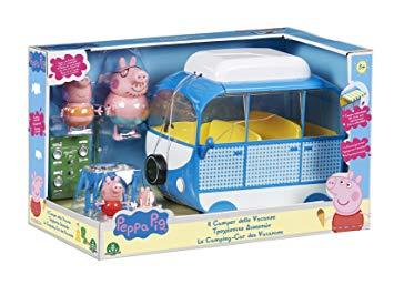 peppa pig en camping car