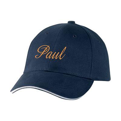 personnalisé casquette