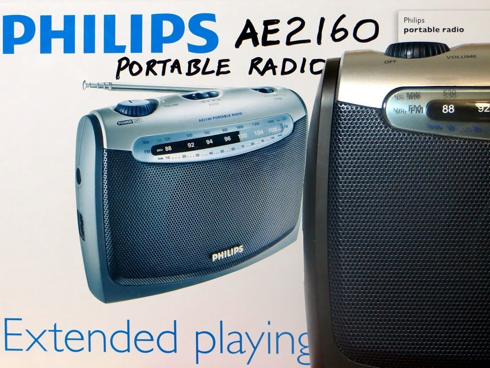 philips portable fm radio