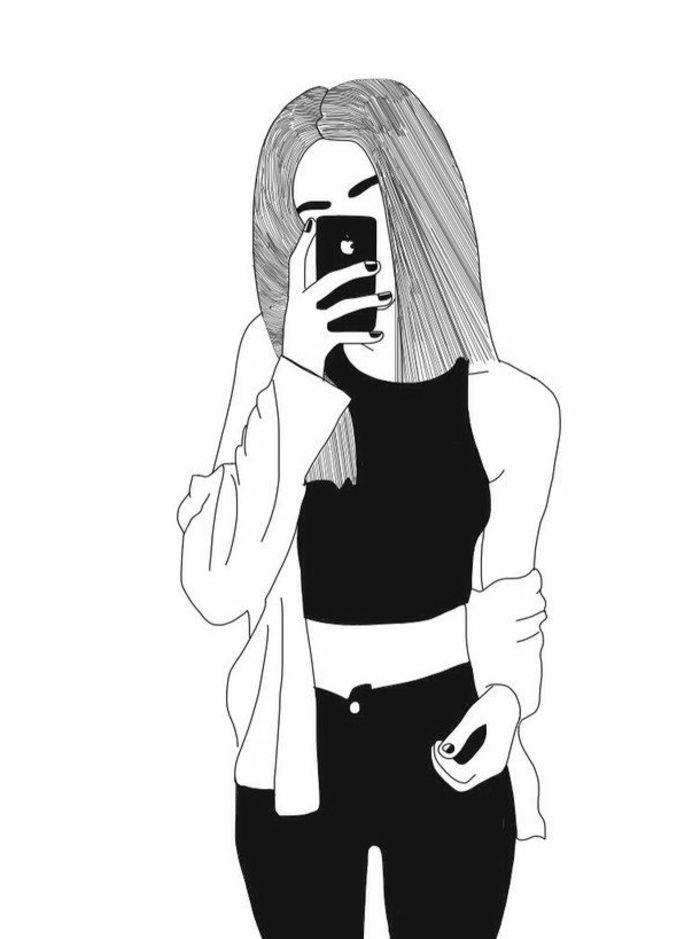 photo swag en noir et blanc