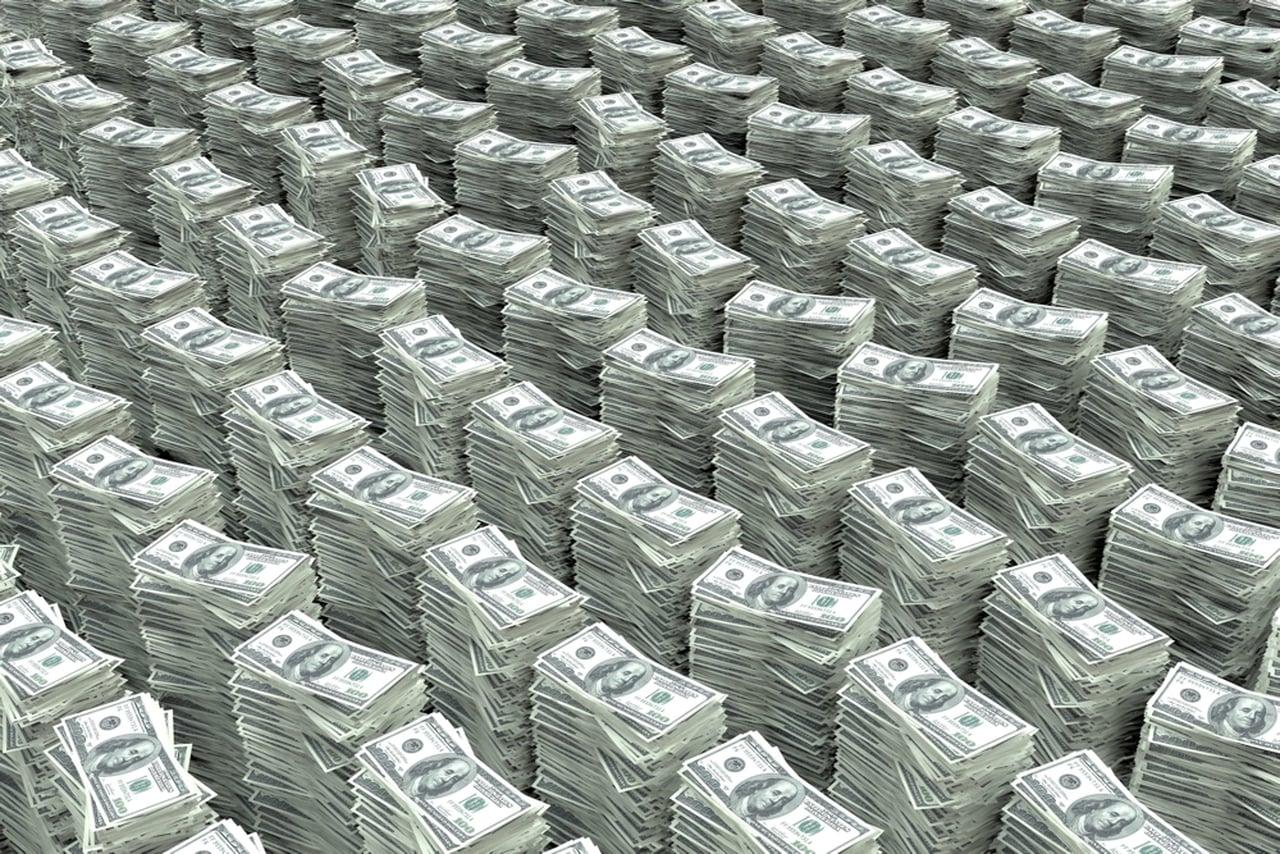pile d\'argent