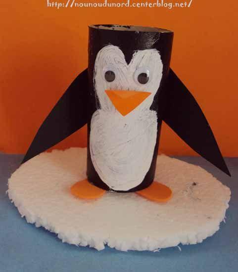 pingouin papier toilette