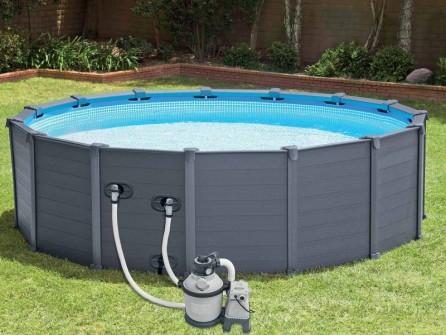piscine graphite intex