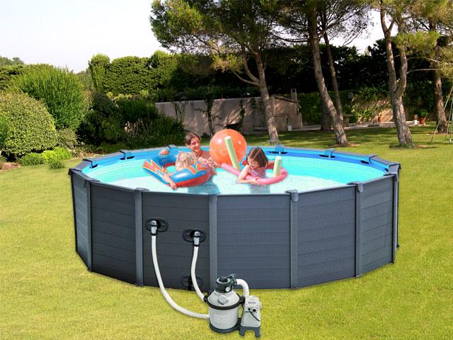 piscine hors sol acier intex