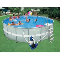 piscine hors sol ronde intex
