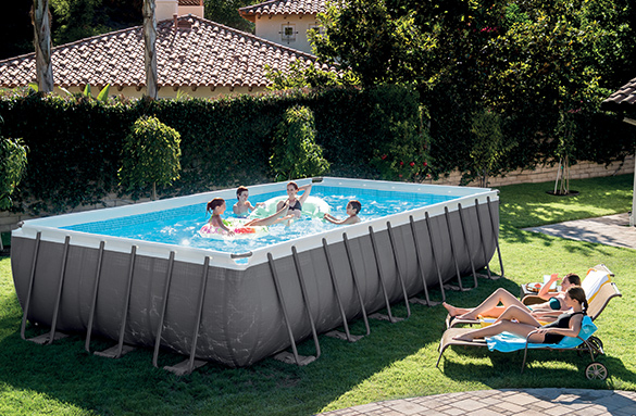 piscine hors sol tubulaire intex rectangulaire