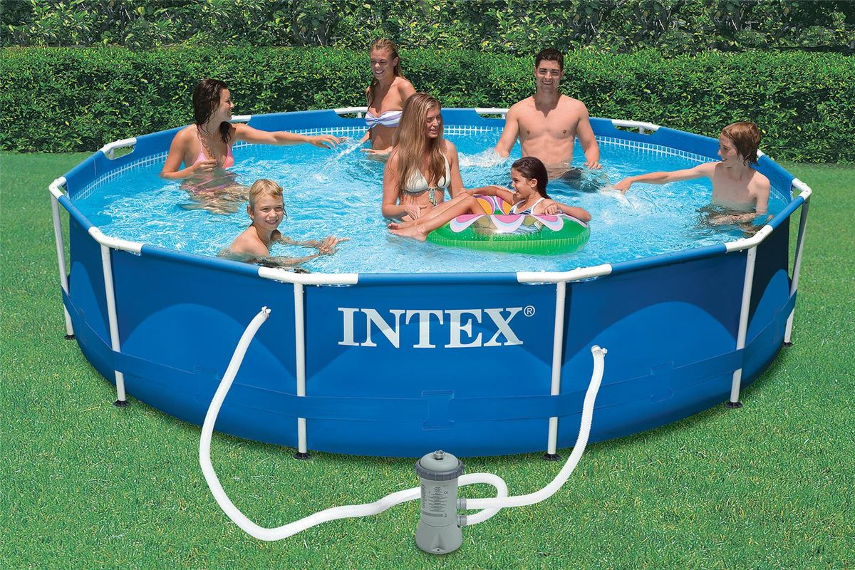 piscine tubulaire intex metal frame