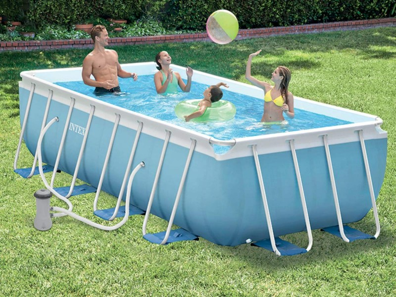 piscine tubulaire intex rectangulaire