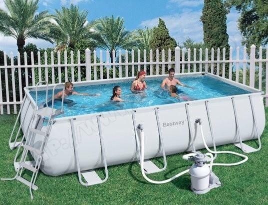 piscine tubulaire rectangulaire pas cher