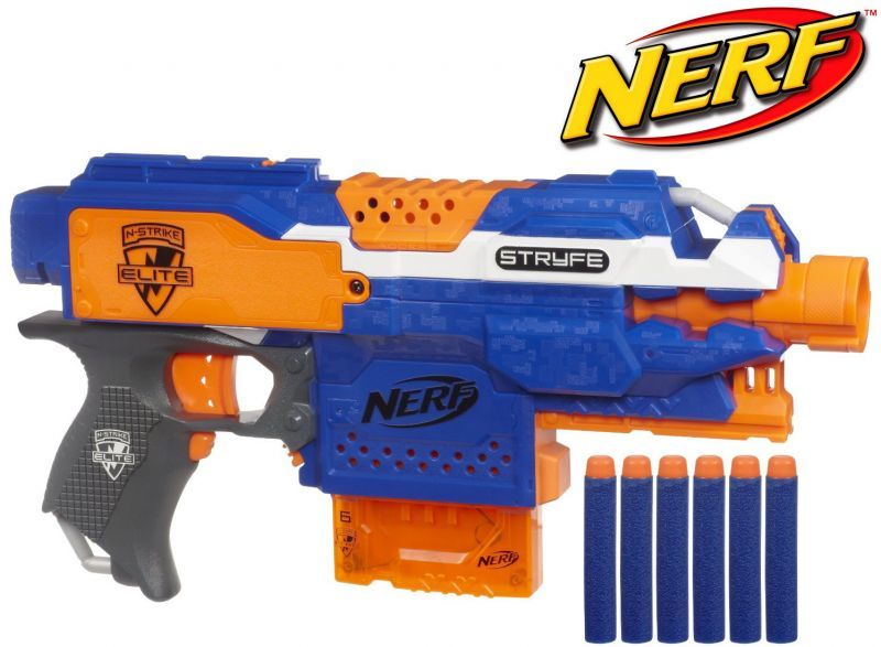pistolet nerf automatique