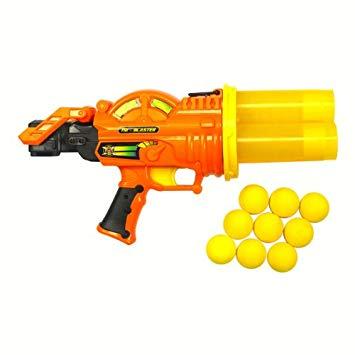 pistolet nerf balle mousse