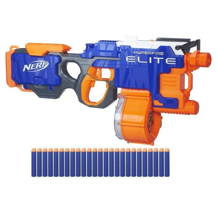 pistolet nerf hyperfire