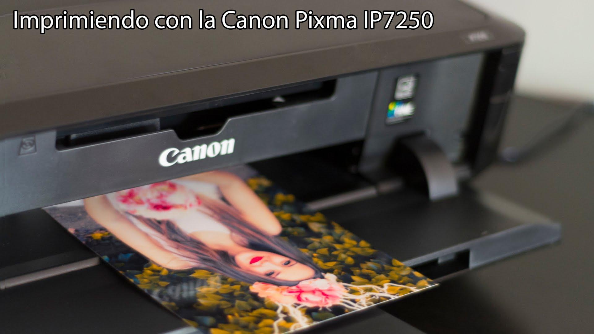 pixma ip7250 test