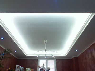 plafond suspendu lumineux