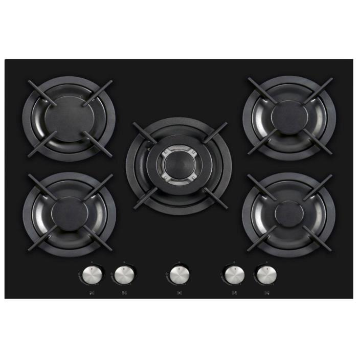 plaque de cuisson gaz 5 feux