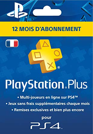 playstation plus carte