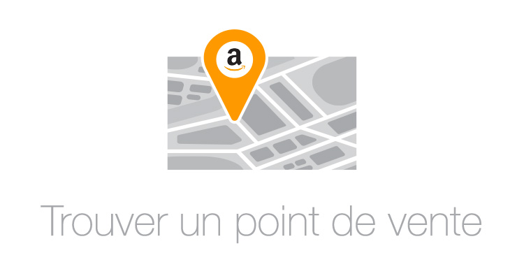 point de vente carte amazon