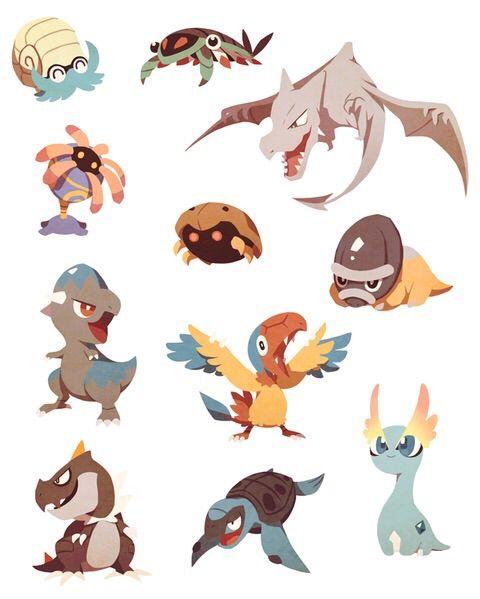 pokemon fossile
