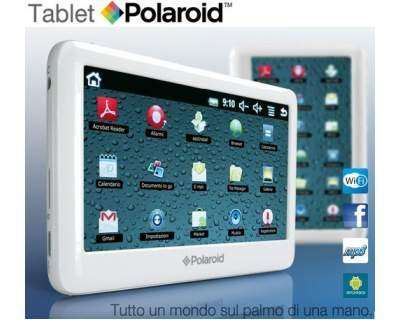 polaroid tablette