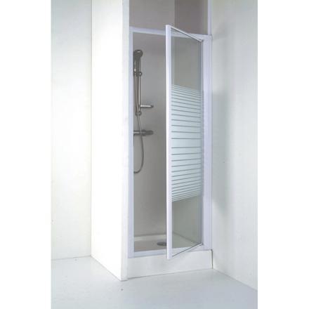 porte de douche pivotant 80