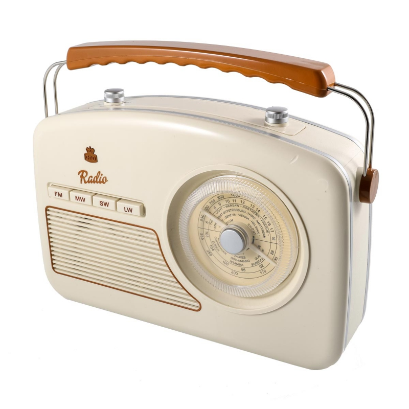 poste radio retro
