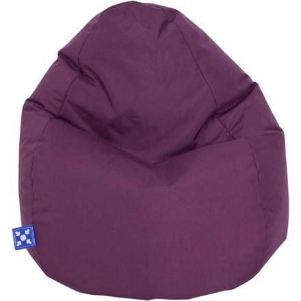 pouf violet pas cher