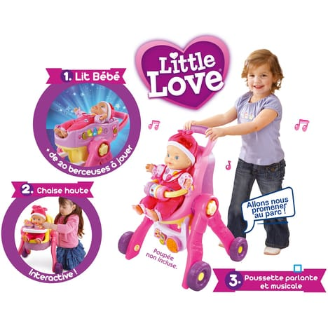 poussette vtech little love