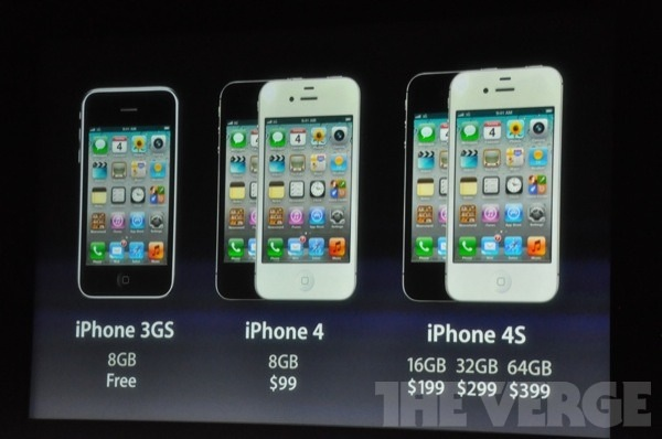 prix iphone 4s
