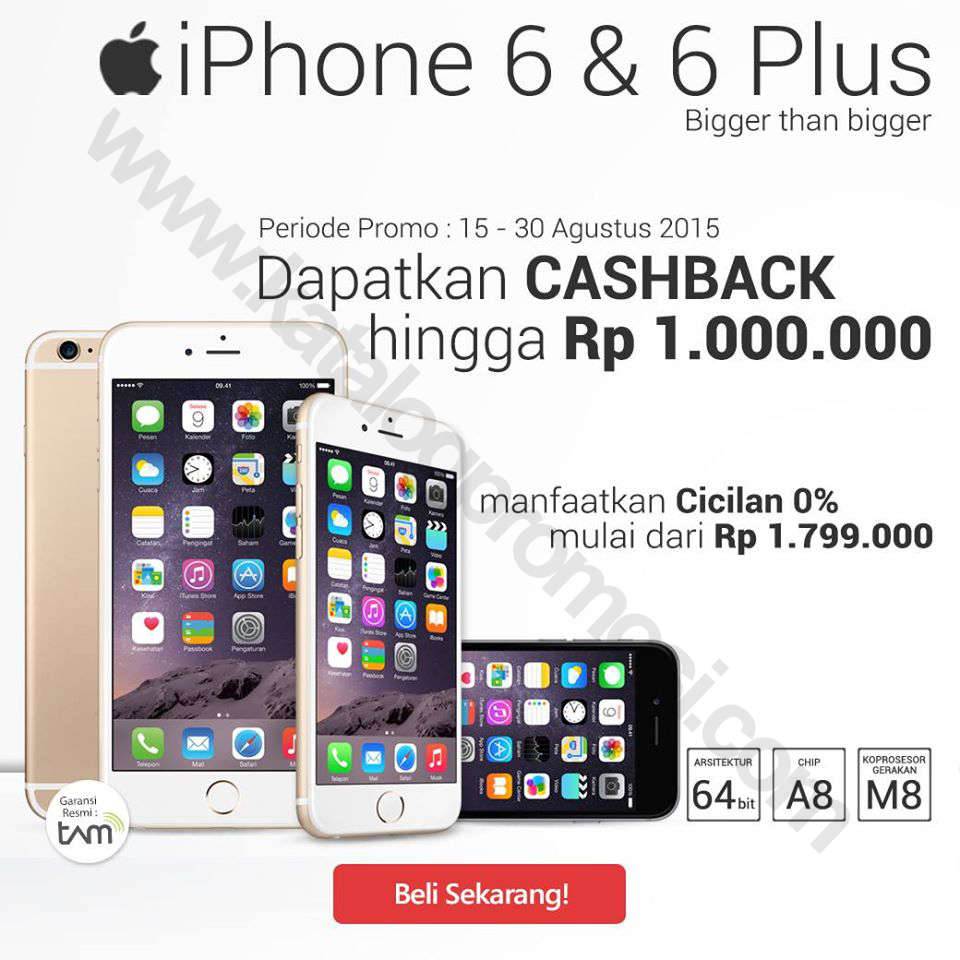 promo iphone 6s plus