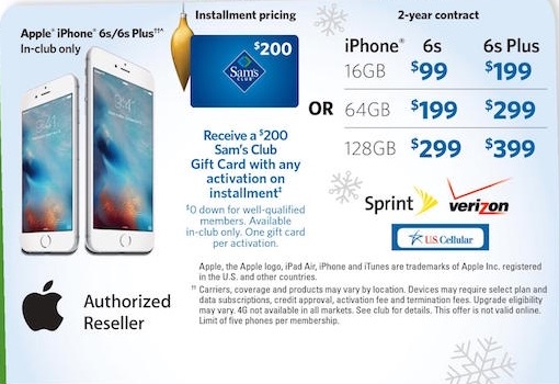 promo iphone 6s