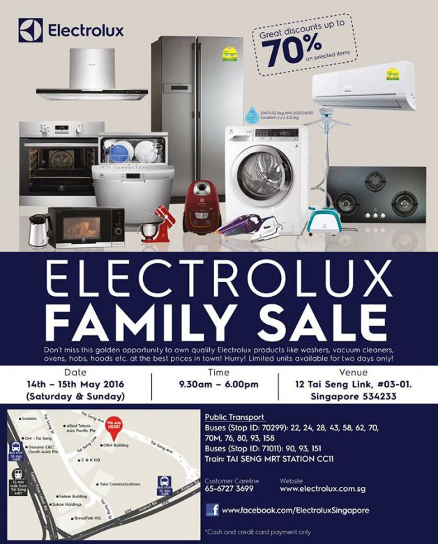 promotion electrolux