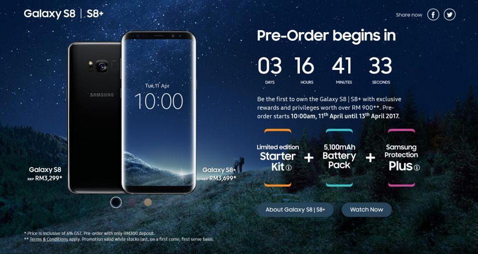 promotion galaxy s8