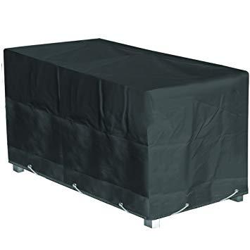 protection table de jardin rectangulaire