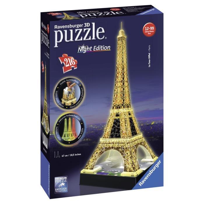 puzzle 3d pas cher