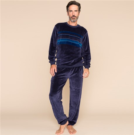 pyjama homme en velours