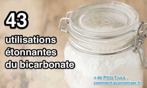 que faire avec du bicarbonate